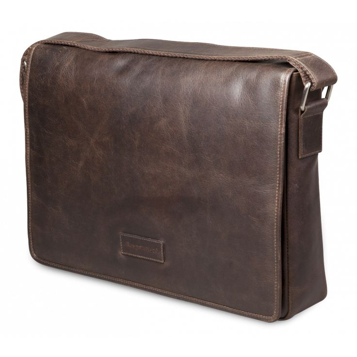 Our Marselisborg messenger bag is also featured in Hunter Dark. The interior is padded containing several pockets to support up to 14 inch Laptop or MacBook.