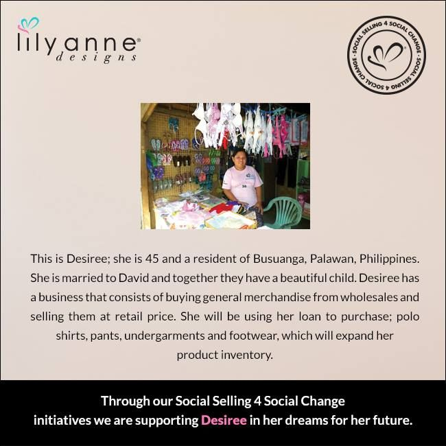 We are changing the world... one woman at a time. We believe that when women are empowered, so too are families; communities; the world. When you partner with Lily Anne Designs® you are empowering another woman in a developing country. Read Desiree's story... #LilyAnneDesigns #SocialSelling #ChangingTheWorld