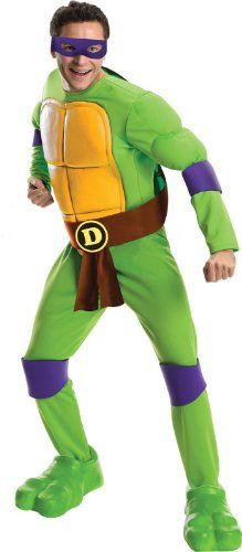 Rubie's Costume Men's Teenage Mutant Ninja Turtles Deluxe Adult Muscle Chest Donatello, Green, Standard Rubie's Costume Co http://www.amazon.com/dp/B00DG8VGHE/ref=cm_sw_r_pi_dp_62buub02STV2X