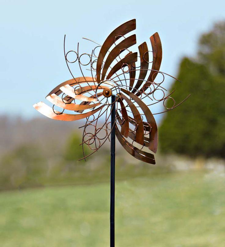 Cosmic Wings Metal Wind Spinner Garden Ideas I Love