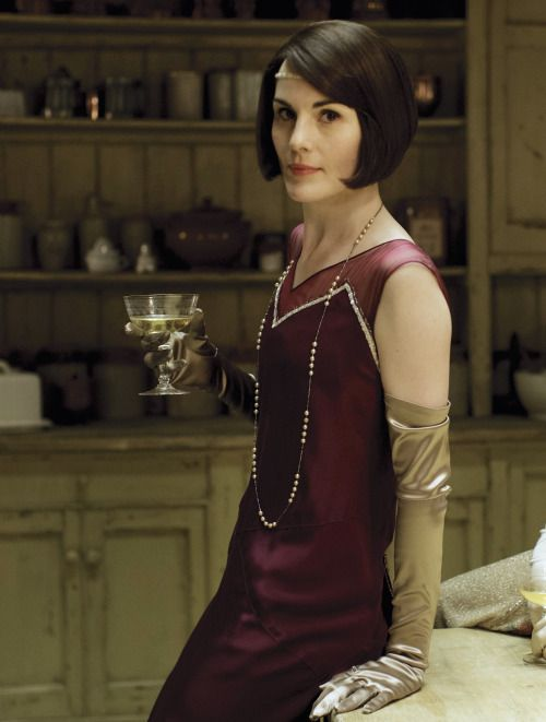 Michelle Dockery as Lady Mary Crawley in Downton Abbey (TV Series, 2015)