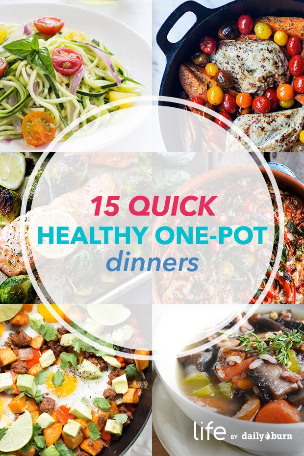 pot meals for quick healthy dinners healthy one pot meals quick meals