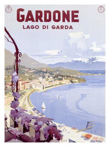 ITALY - Lake Garda painting inspiration