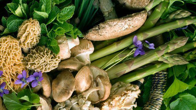 Les fruits et légumes de saison: avril