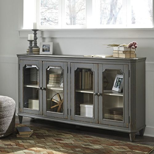 Found it at Joss & Main - Brynn Cabinet Overall: 35.88'' H x 67.5'' W x 14'' D Bar for sitting room