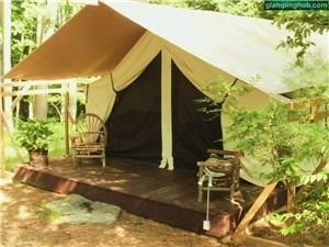 Luxury Camping Tents Upstate New York