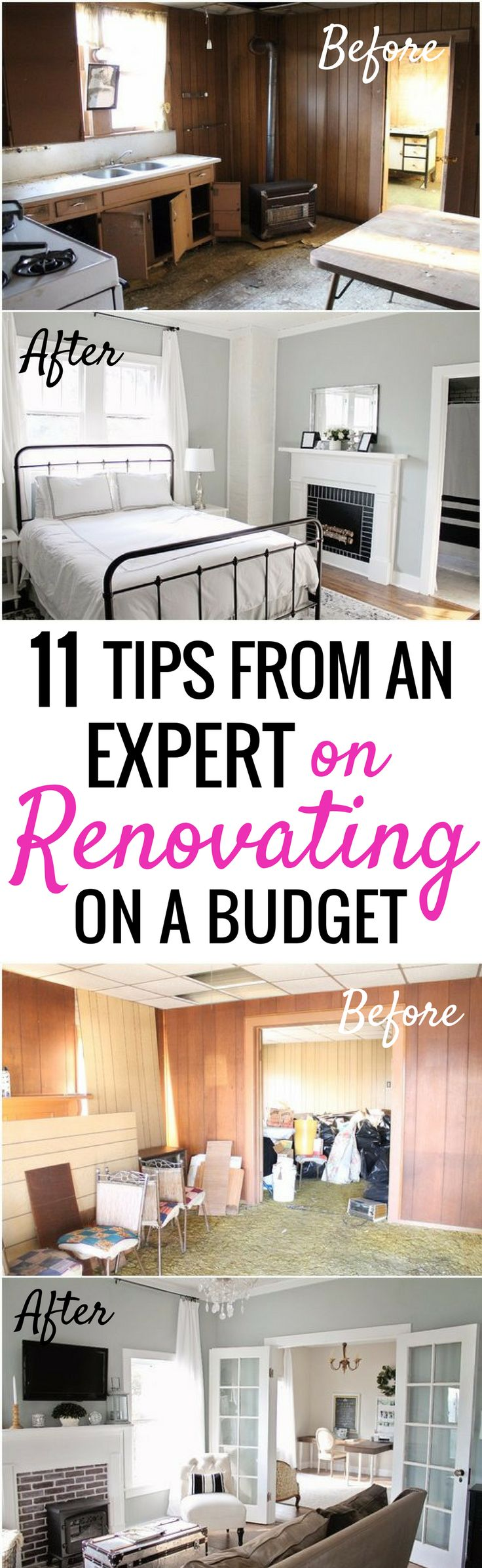 How she renovated and decorated her home on a budget is SO COOL! I'm so glad I found these GREAT tips on decorating on a dime! Now I have some great cheap home decor ideas! Definitely pinning!