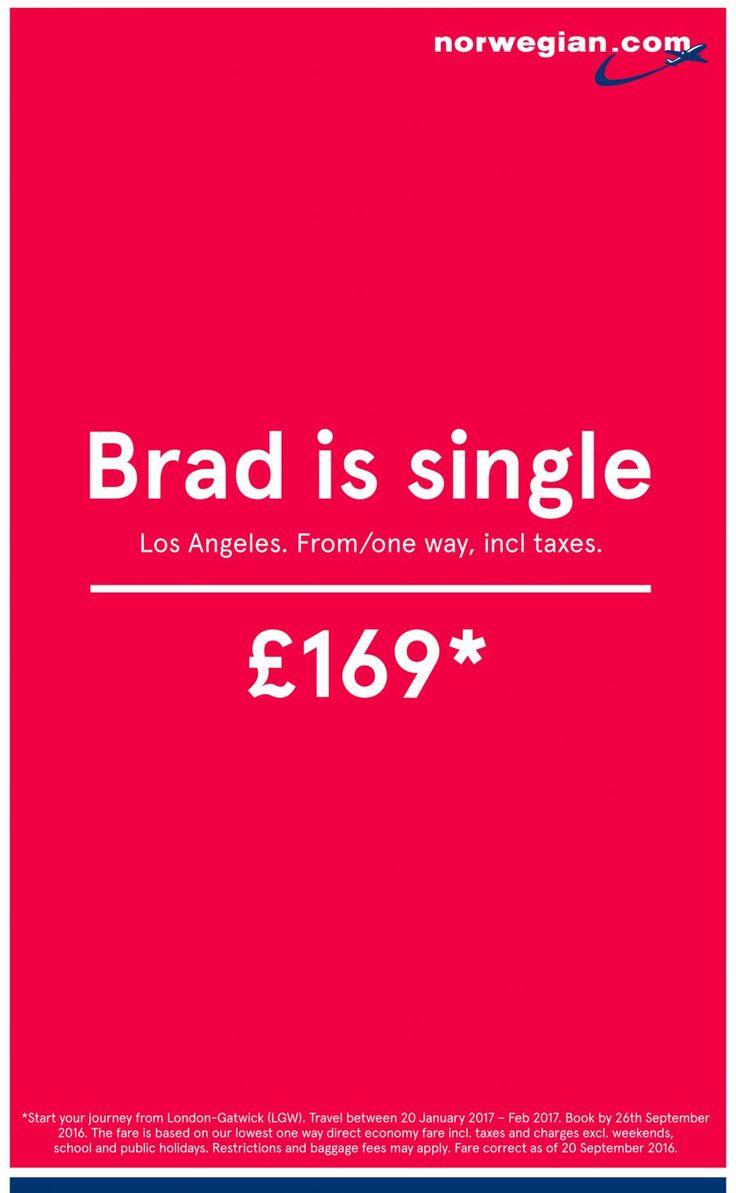 Der Epica Grand Prix in der Sparte Print geht an eine simple, aber sehr effektvolle Kampagne für die norwegische Airline Norwegian