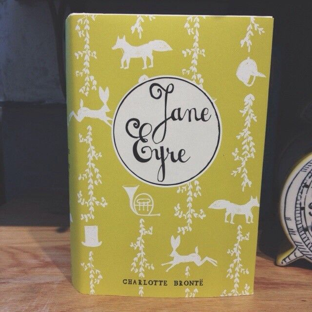 Jane Eyre cover & script.
