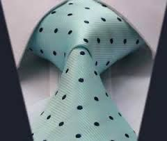 mint green and navy tie- wedding