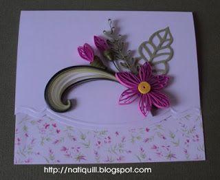 NatiQuill Blog: Cartões de Quilling Setembro / September Quilling Cards