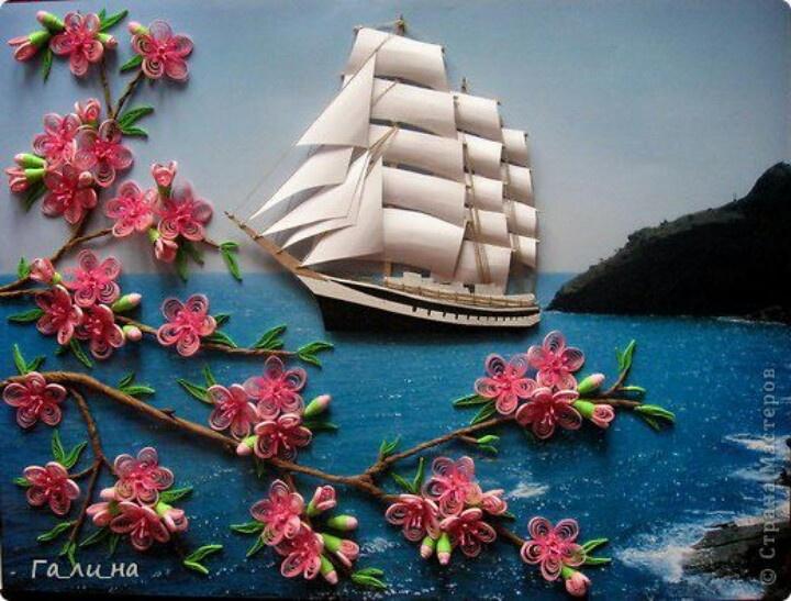 By Ga Lli Na, Russian quiller
