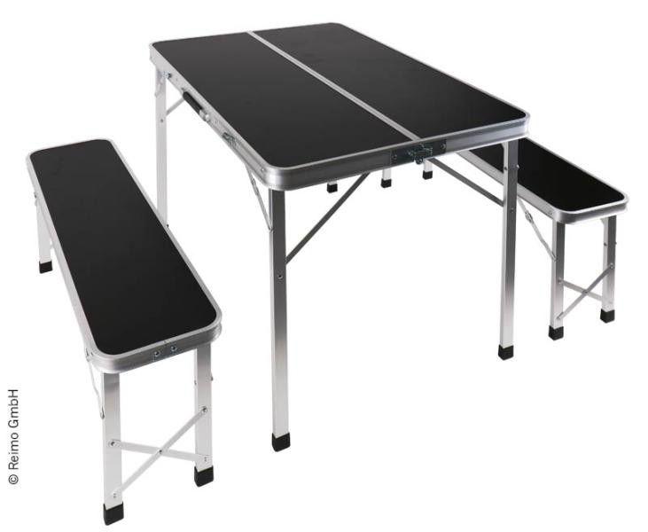 Camp 4 Picknick Sitzgruppe Tisch Mit 2 Banken 4043729145627