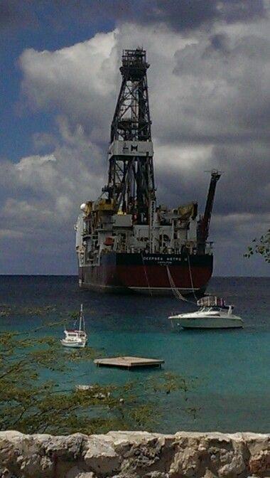 Bootje in Curaçao