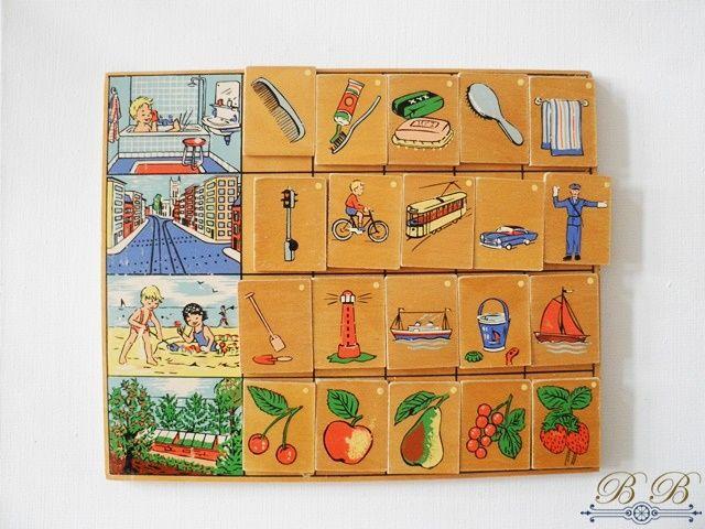 houten lotto - schoolmateriaal