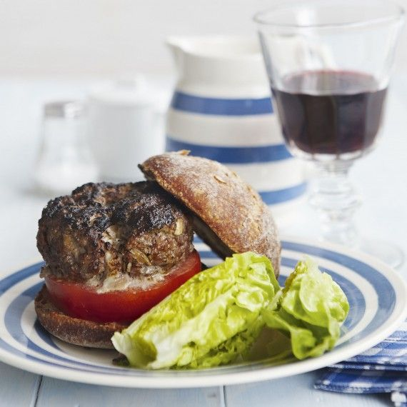 Melting mozzarella steak burger is such a treat and everyone will love it!