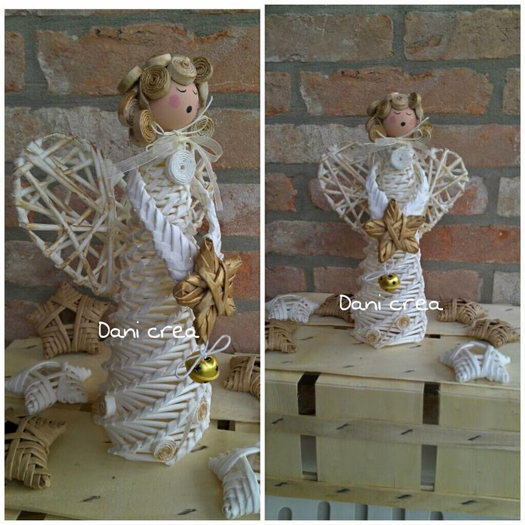 angyal Il filo di mais di Chiara Gloria e Daniela: Angioletto