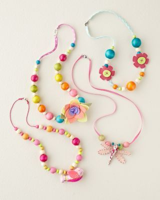 Wooden Bead Necklace by Everbloom