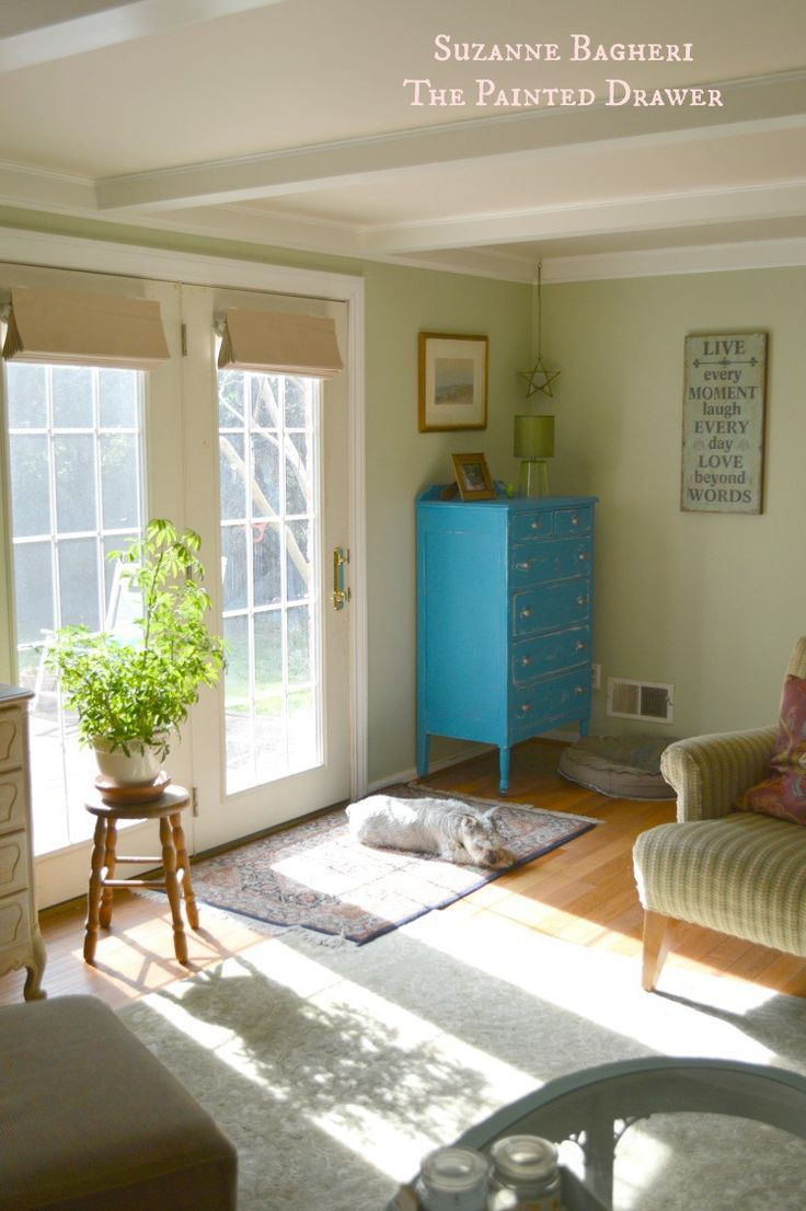 Summer room refresh benjamin moore paint colors - Benjamin moore paint for living room ...