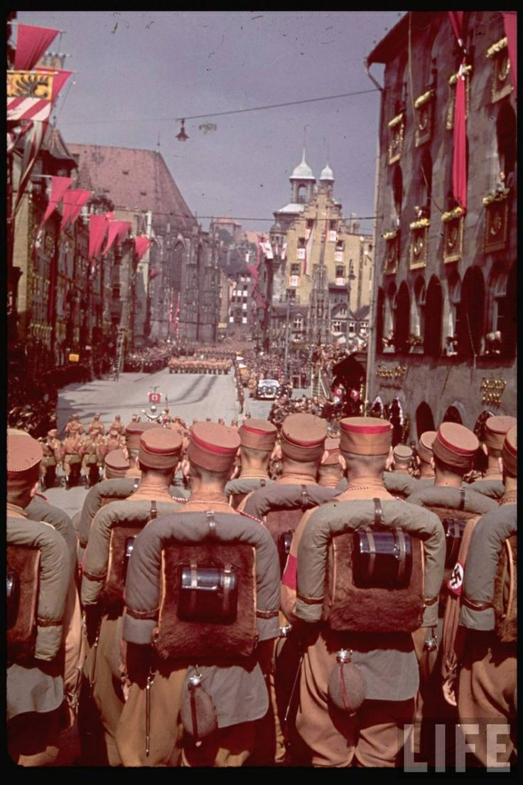 The Sturmabteilung (SA) partake in a national parade in celebration of the National Socialist German Workers Party and its leader Adolf Hitler being elected in as the government of the Reich. Numbering nearly 3 million personnel at its peak, standing as the longtime backbone for the NSDAP and its successful rise to power, many prominent leaders within both the military and government viewed the SA as an increasing concern to the nation. The SS in particular viewed them as a rival as did the…