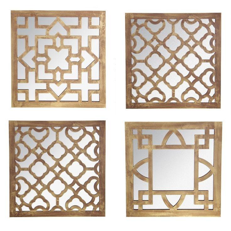 M s de 25 ideas incre bles sobre espejos dorados en for Espejos decorativos plateados