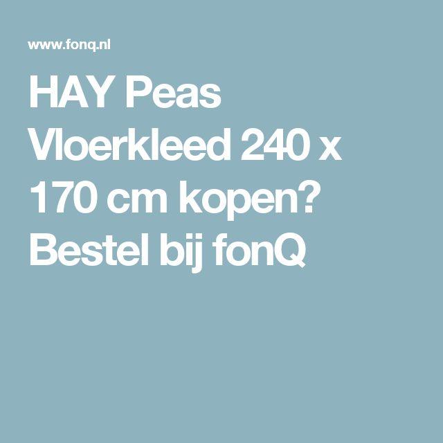 HAY Peas Vloerkleed 240 x 170 cm kopen? Bestel bij fonQ