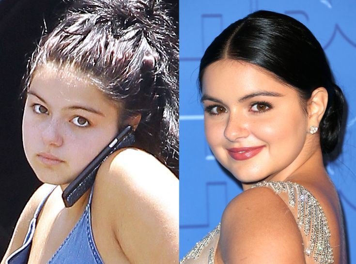 Ariel Winter from Stars Without Makeup  The Modern Family star glams it up for Emmy night!