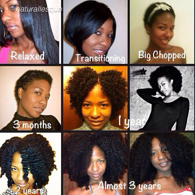RELAXED TO NATURAL. To learn how to grow your hair longer click here - http://blackhair.cc/1jSY2ux