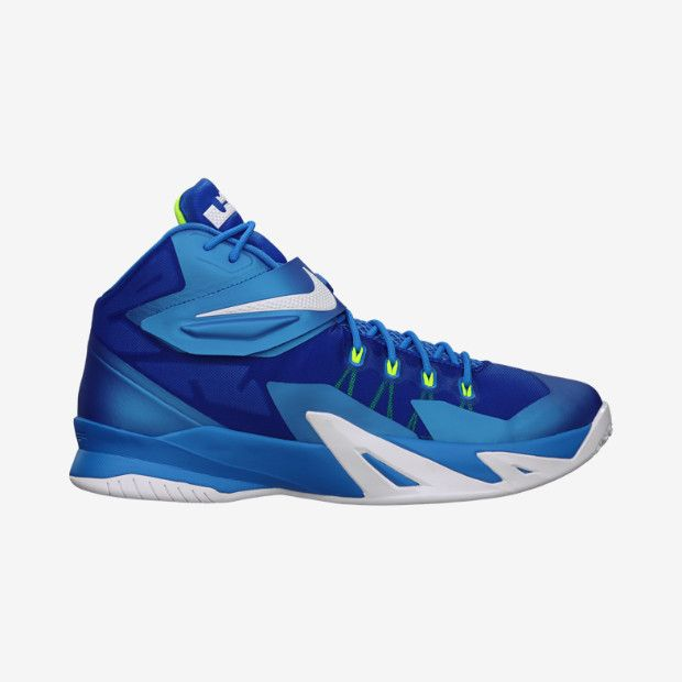 a087b376b22 Buy Authentic Nike Zoom Soldier VI 6 Blue Silver Green Lebron So ...