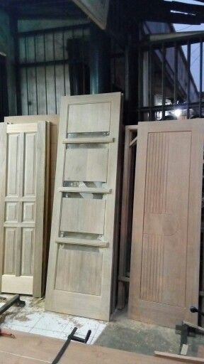 Finish!!! My lovely doors from Kamper and Meranti wood