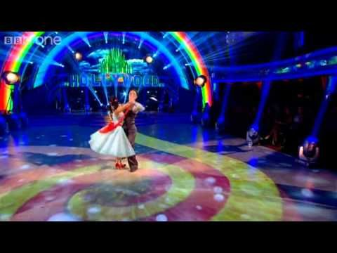 Dani Harmer & Vincent Foxtrot to 'Somewhere Over the Rainbow'' - Strictly Come Dancing 2012 - BBC