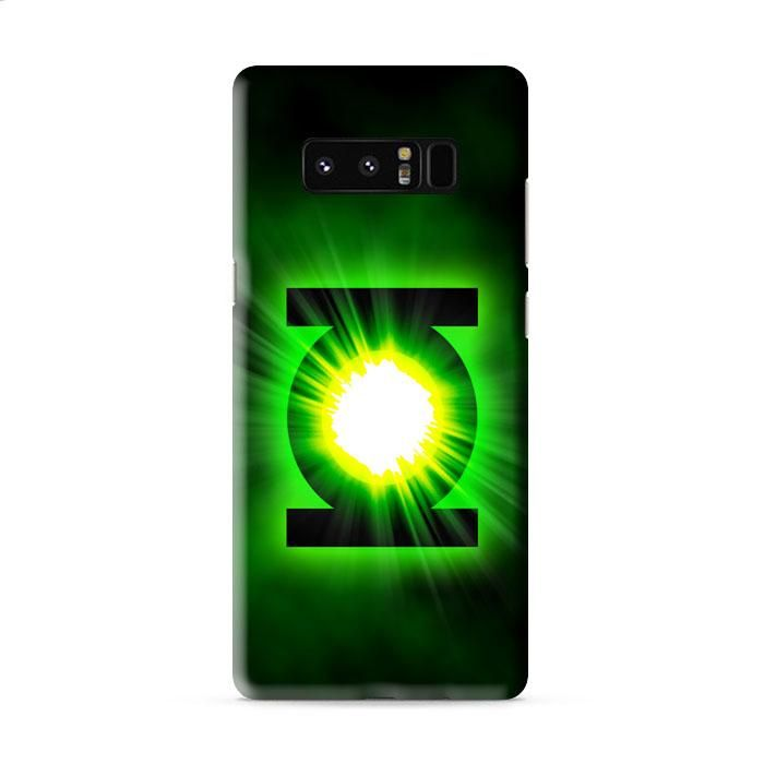 Green Lantern Power Ring Logo Samsung Galaxy Note 8 3D Case Caseperson
