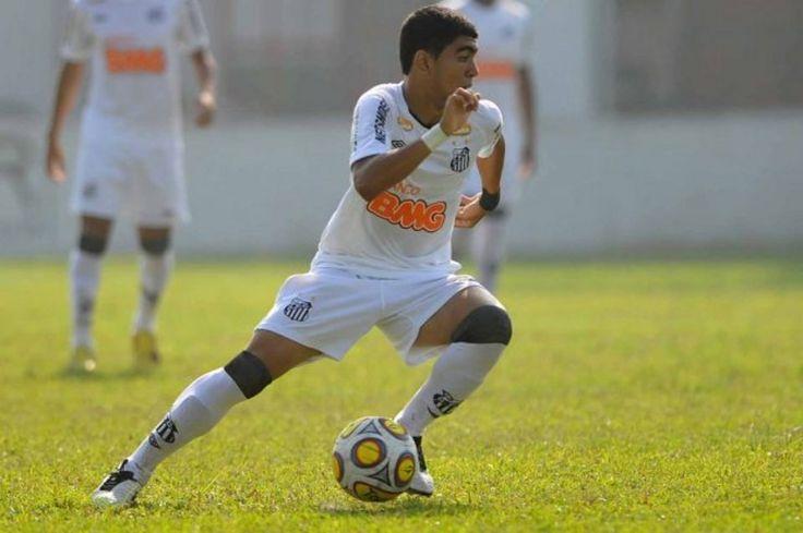 Gabriel Barbosa Almeida, Santos, forward, Brazil