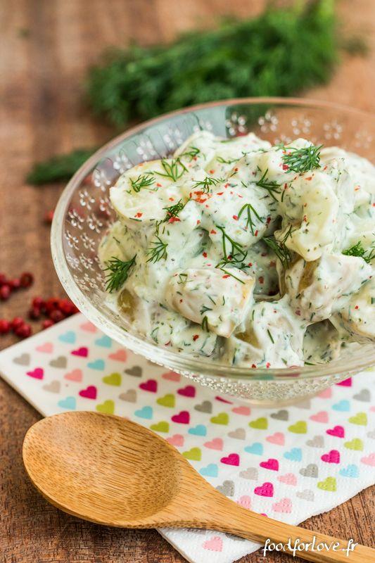 Photo Salade de Pommes de Terre et Concombre au Yaourt et à lAneth
