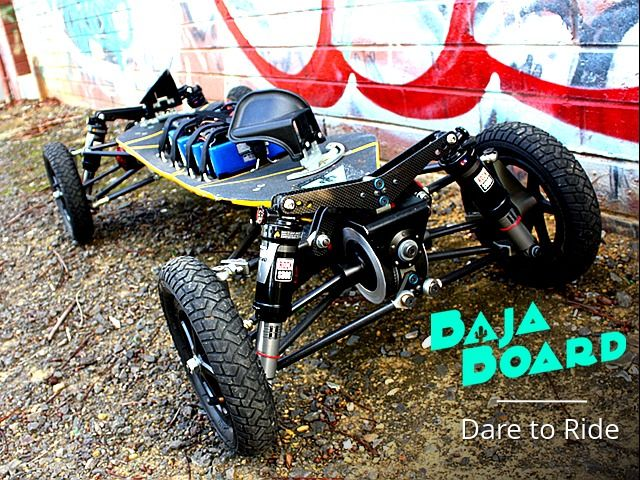 BajaBoard - World's Most Extreme Electric Skateboard by BajaBoard — Kickstarter