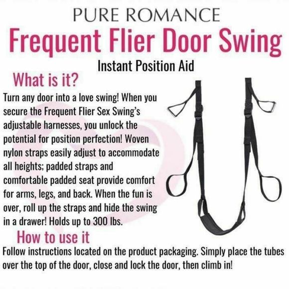 Frequent Flyer Sex Swing Instructions