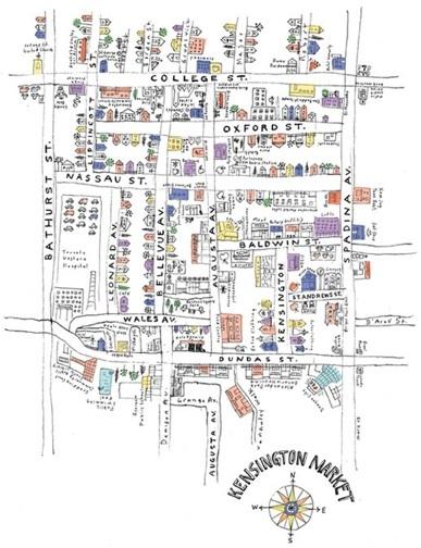 Kensington Market, Toronto  Marlena Zuber
