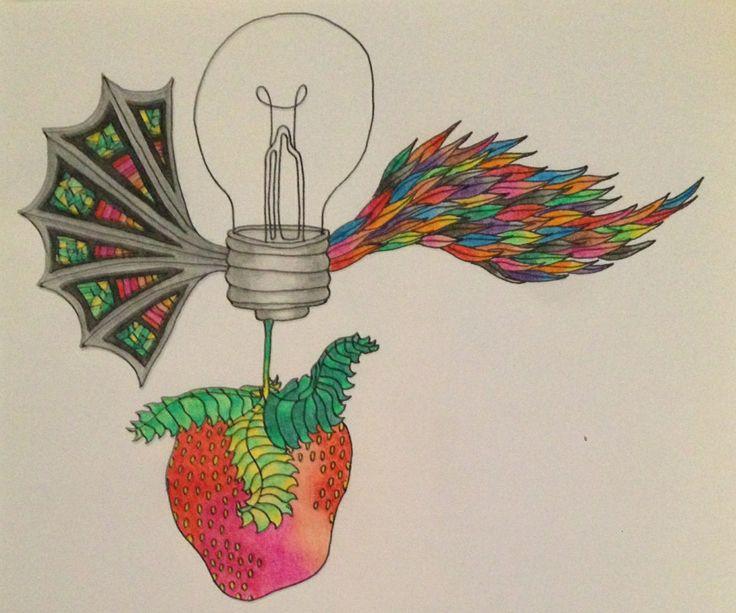 Flying Strawbulb by L. Arjona