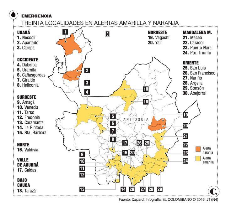 Alerta invernal en 30 municipios