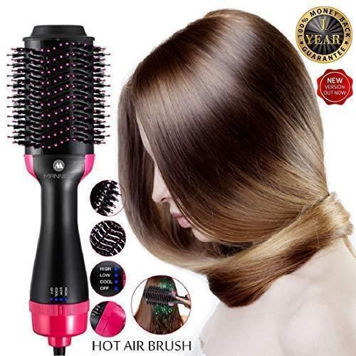 Multifunctional Infrared Negative Ion Hair Dryer Straight Hair Curling Comb