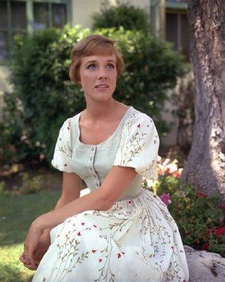 The Sound of Music, Julie Andrews as Maria