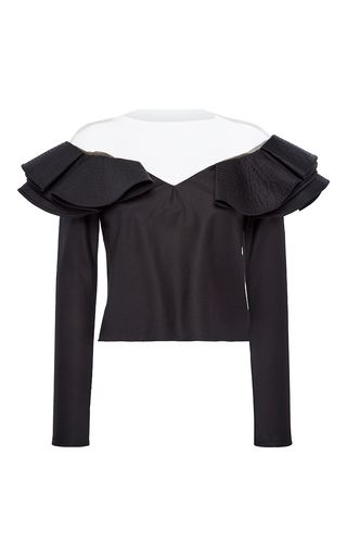 Catherine Of Valois Long Sleeve Top by JOHANNA ORTIZ for Preorder on Moda Operandi