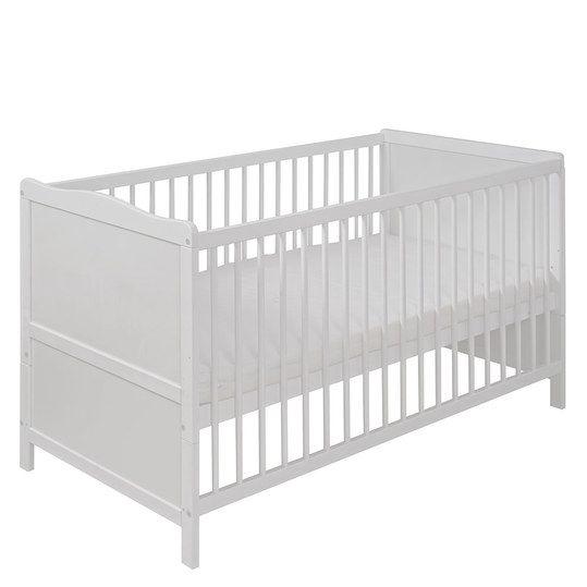 Stabiles Kombi-Bett mit höhenverstellbarer Liegefläche, Schlupfsprossen und…