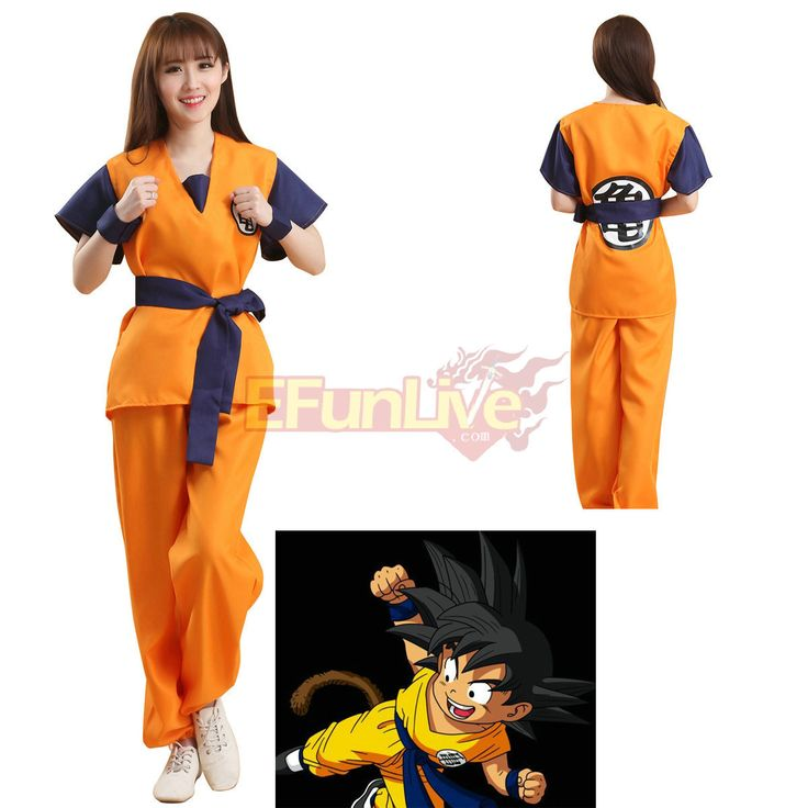 EFunlive - Dragon Ball GoKu Kakarot Anime Cosplay Costume Party Wear, $19.95…