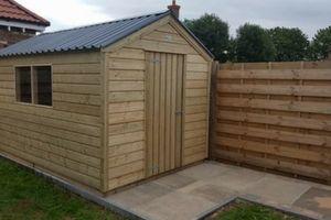 hand made garden sheds dublin ireland