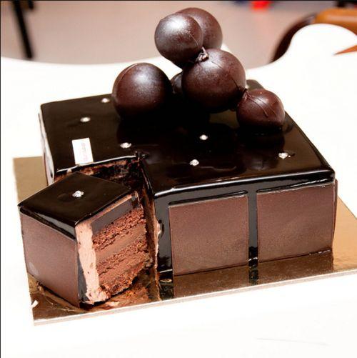 Adriano Zumbo's, 'V8 cake' - 8 textures of chocolate - Sydney best cakes