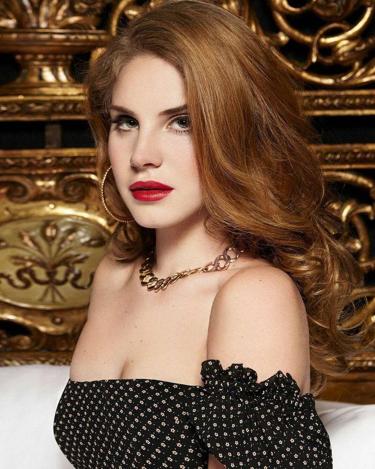 Lana Del Rey Born to Die era photoshoot strawberry blonde ...