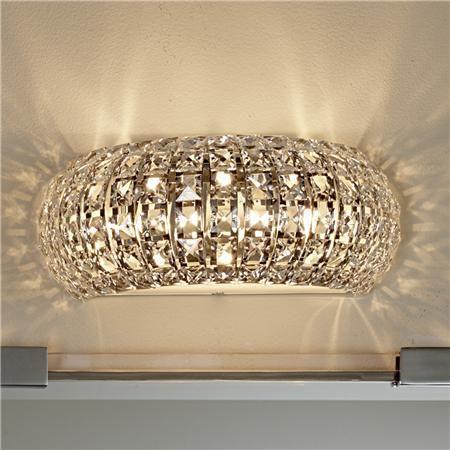 378 Best Bathroom Images On Pinterest  Bathrooms Decor Creative Enchanting Crystal Vanity Lights For Bathroom Review