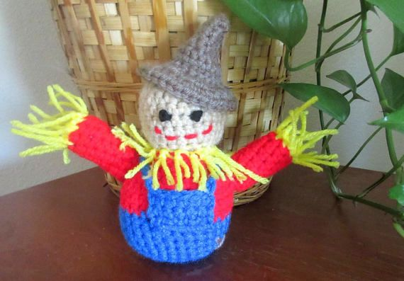 Check out this item in my Etsy shop https://www.etsy.com/listing/547720879/crochet-scarecrow-doll-autumn-home-decor