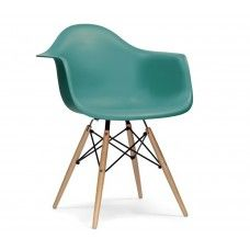 Charles & Ray Eames Inspired DAW Chair - Teal